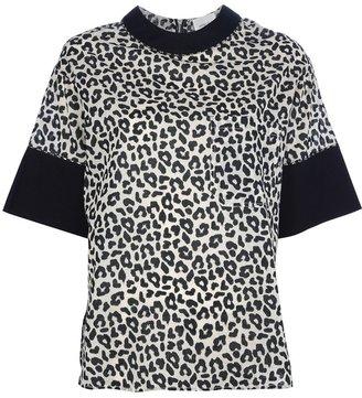Laurence Dolige leopard print t-shirt