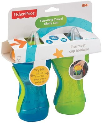 Fisher-Price 2-pk. Two-Grip Travel Straw Sippy Cups - Boy