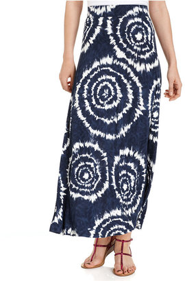 INC International Concepts Skirt, Tie-Dye Maxi