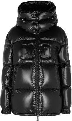 Moncler Guernic Black Quilted Shell Jacket