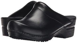 Sanita Sonja Cabrio (Black Cabrio) Women's Clog/Mule Shoes