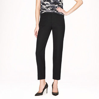 J.Crew Collection patch pocket pant in wool gabardine