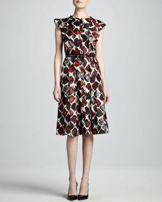 Carolina Herrera Printed Dress