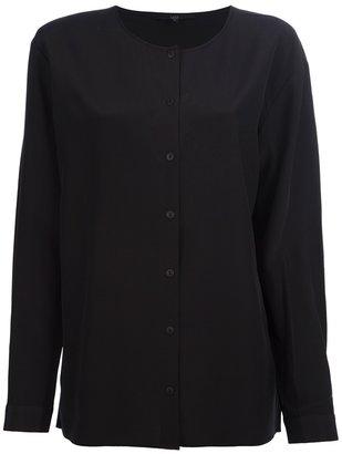 Tibi collarless blouse
