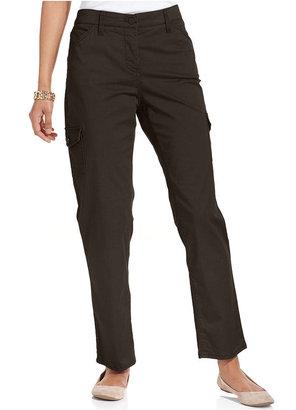 Charter Club Pants, Straight-Leg Cargo