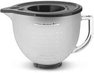 KitchenAid 5-Qt. Frosted Glass Bowl with Lid