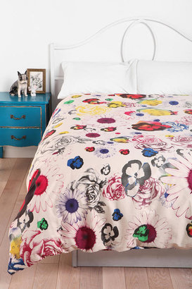 Urban Outfitters Plum & Bow Cher Floral Duvet Cover