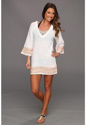 Hurley Athena Tunic (White) - Apparel