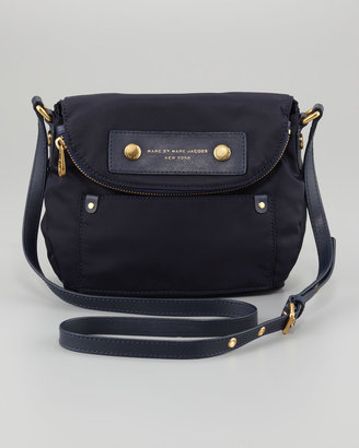 Marc by Marc Jacobs Preppy Nylon Natasha Mini Crossbody Bag, Jet Blue