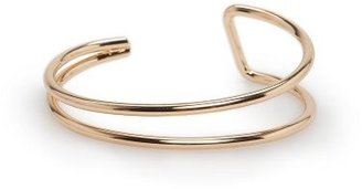 MANGO Metal Double Bracelet