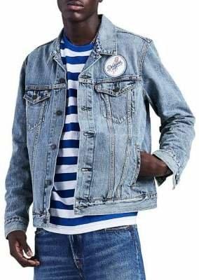 Levi's MLB LA Dodgers Denim Trucker Jacket
