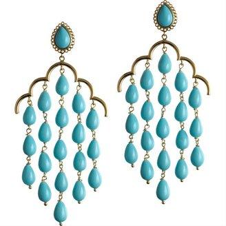 Asha by ADM Turquoise Chandelier Earrings