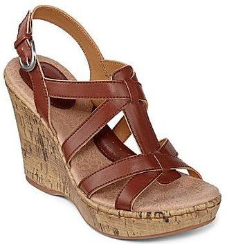 Bolo Kaula Strappy Wedge Sandals