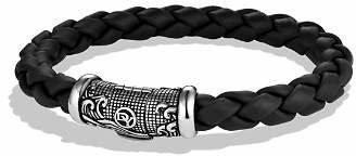David Yurman Waves Bracelet in Black