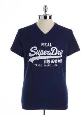 Superdry Printed Cotton T-Shirt
