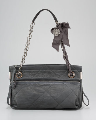 Lanvin Amalia Quilted Lambskin Shoulder Bag, Medium