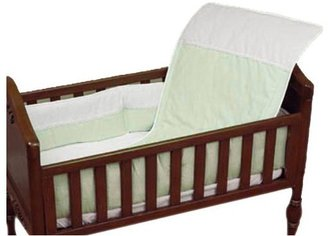 Baby Doll Bedding Kingdom Port-a-Crib Bedding Set - Sage