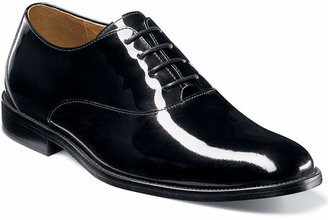 Florsheim Kingston Patent Leather Plain Toe Oxfords $140 thestylecure.com