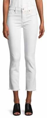 7 For All Mankind Roxanne Ankle Fray Hem Jeans