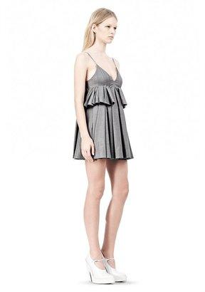 Alexander Wang Irregular Pleat Camisole Dress