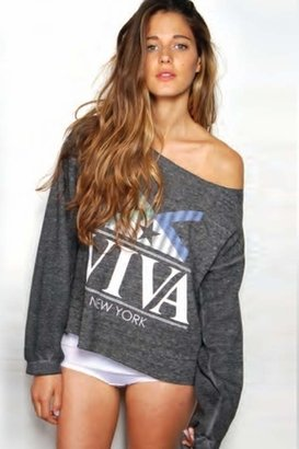 Rebel Yell Viva Lounger in Black/Grey