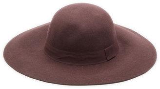 Lori's Shoes Wide Brim Floppy Wool Hat