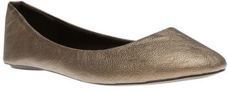 Wet Seal Classic Faux Leather Ballet Flats