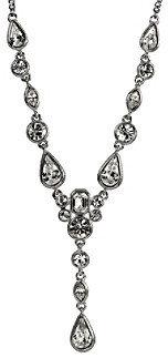 Givenchy Crystal Y Necklace