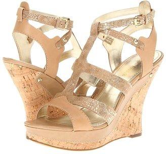 GUESS Bendari (Gold Multi Leather) - Footwear