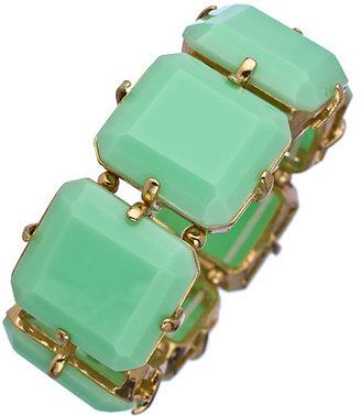 Blu Bijoux Mint Wide Stretch Bracelet