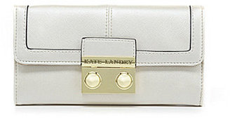 Kate Landry Saffiano Checkbook Wallet