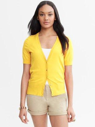 Banana Republic Short-Sleeve Cardigan