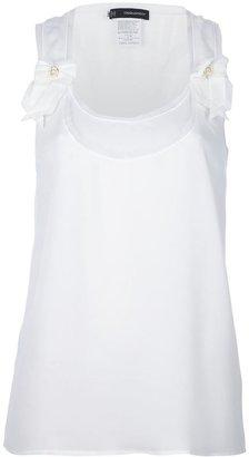 DSquared DSQUARED2 bow detail vest top