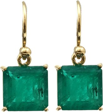 Irene Neuwirth JEWELRY Colombian Emerald Earrings