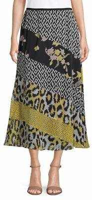 Diane von Furstenberg Darcie Silk Midi Skirt