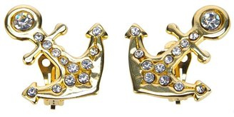 Lancetti Vintage anchor earrings