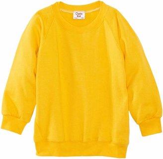 Charles Kirk Coolflow Round Neck Unisex Boy's and Girls School Sweatshirt Black C34 IN