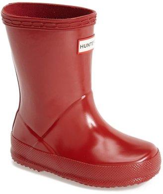 Hunter 'First Gloss' Rain Boot