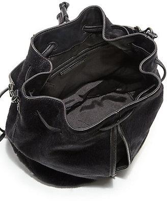 Elizabeth and James Cynnie Calf Hair Sling Backpack