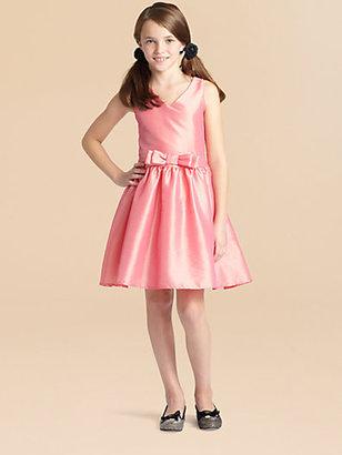 Un Deux Trois Girl's Taffeta Dress