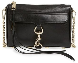 Rebecca Minkoff 'Mini Mac' Convertible Crossbody Bag - Black $195 thestylecure.com