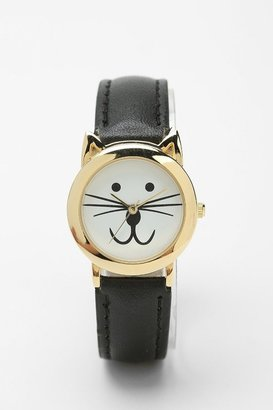 Urban Outfitters Meow O'Clock Watch