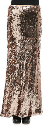 Free People Sequins for Miles Maxi Skirt