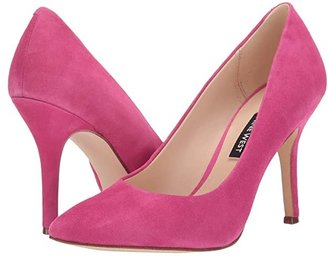 Nine West Flax Pump (Bright Fuchsia) High Heels