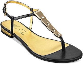 Marc Fisher Lowfish Flat Thong Sandals