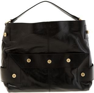 Givenchy East West Military Hobo- BLACK