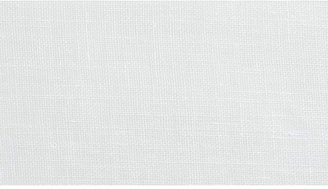 Crate & Barrel Linen Sheer White Curtains