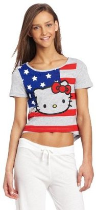 Hello Kitty Women's Cropped Sleep Tee