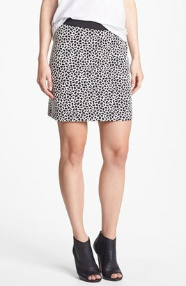 Vince Camuto Two by Jacquard Miniskirt