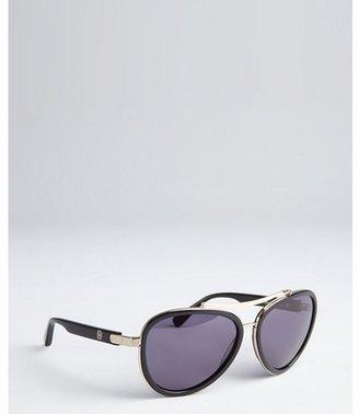House Of Harlow black acrylic and metal 'Lynn' sunglasses